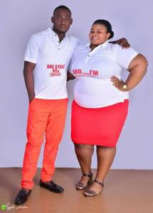 Check out this pre-wedding photos of a slim man and his plus-sized wife (Photos)