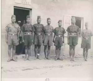 Check out Nigerian Police Uniform In 1948 (Photo)