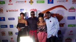 #BBNaija: Ahneeka, Angel, Leo And Ifu Ennada At BBNaija Eviction Party (Photos)