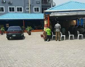 Lord's Chosen Church, Lekki Branch Allegedly Punish Members For Being Late (Photo)