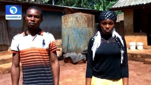 Man Who Married His Sister In Anambra Undergoes Spiritual Cleansing With 7 Virgins