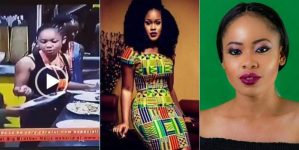 #BBNaija: Watch the dramatic moment Nina and Cee-C nearly fought in the house (Videos)