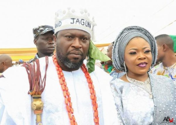 , Actor Femi Branch Marries Third Wife In Style Shortly After Getting A Chieftaincy Title (Photos), Effiezy - Top Nigerian News & Entertainment Website