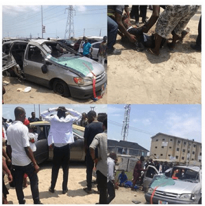 SAD: Newly Married Couple Involved In Ghastly Accident, Groomsman Dies (Photos)