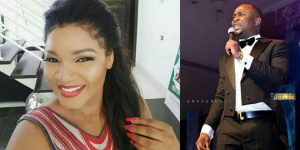 """You Don't Know How To Sing, Stop It""- Comedian Ushbebe Tells Omotola Jalade-Ekeinde (Video)"