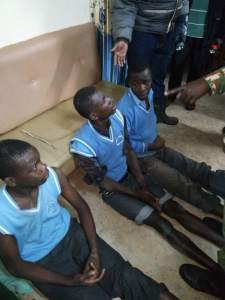 Secondary School Boys Arrested For Sneaking Into Female Hostel – (Photos)