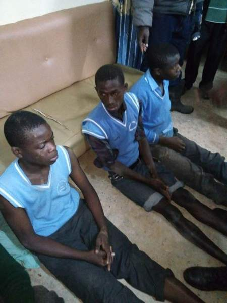 , Secondary School Boys Arrested For Sneaking Into Female Hostel – (Photos), Effiezy - Top Nigerian News & Entertainment Website