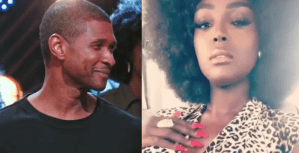 Usher Raymond's New Girlfriend, Amara Goes Completely Nude In New Photo Shoots