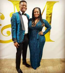 Toolz and Her Husband Tunde Demuren Step Out In Matching Outfit (Photos)