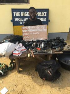Drug Baron And Leader Of Armed Robbery Gang Arrested By SARS Operatives. (Photo)