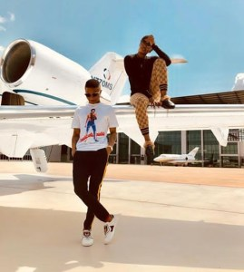 COUPLE ALERT: Check out new photos of Wizkid and Tiwa Savage; Fans react (Photos)