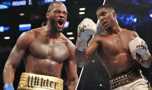 Tyson Fury Labels Anthony Joshua A Disgrace For Deciding Not To Fight Wilder