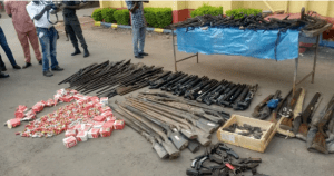 Arms-making factory discovered in Ebonyi (Photo)