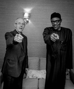Photo of the day: Check out President Buhari & Archbishop of  Canterbury (Photo)