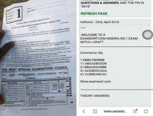 How Nigerian students cheat during WASSCE through websites