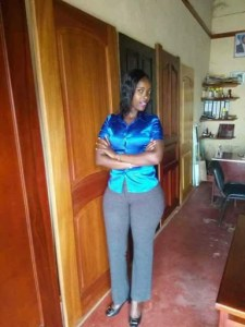 Female Student Takes Selfie While Her Lecturer Was Giving Her A Head In His Office (Photos)