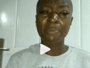 LMAO: Watch this hilarious video of a girl begging Mosquitoes to stop making noise when biting her (Video)