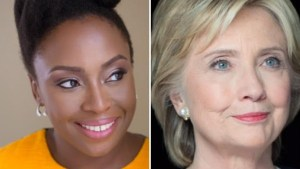 Chimamanda Ngozi Adichie tackles Hilary Clinton why her Twitter bio starts with 'Wife' (Photos)
