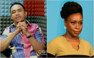 """You can never achieve what Hilary Clinton has achieved"" – Daddy Freeze slams Chimamanda Adichie"