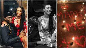 Physically challenged son of former governor of Ogun state, Gbenga Daniel proposes to his girlfriend (Photos)