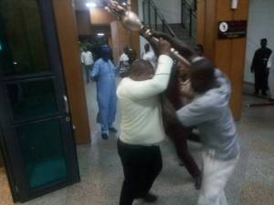 Nigerian Police recovers mace stolen from Senate