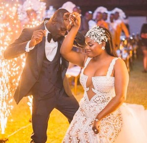 Check out the dress a bride wore to her wedding (Photo)