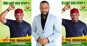 Actor, Yul Edochie declares his intention to run for 2019 Presidential Elections
