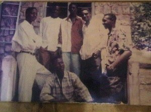 Check Out Throwback photo of Dino Melaye In Okene In 1990 (Photo)