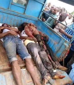 Four Killed In Accident Along Benin-Auchi Expressway (Graphic Photos)