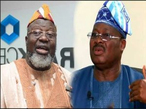 "Govenor Abiola Ajimobi and Minister Adebayo Shittu threaten each other: ""You will go to jail"""