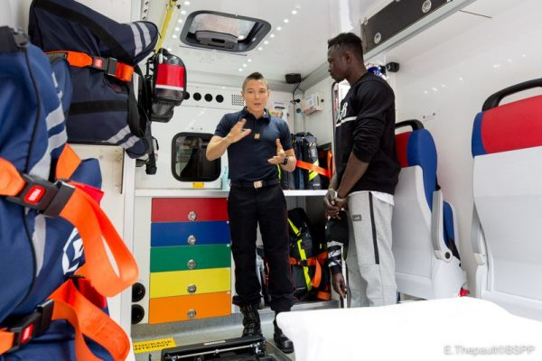 , Mali Spiderman begins firefighting training in France (Photos), Effiezy - Top Nigerian News & Entertainment Website