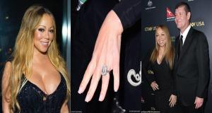 Mariah Carey sells her $13.2m engagement ring from ex-fiancé James Packer for $2.78m (Photo)