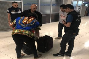 African Lady Caught In Bangkok Airport With 1.6Kg Of Heroine in Her Stomach (Photos)