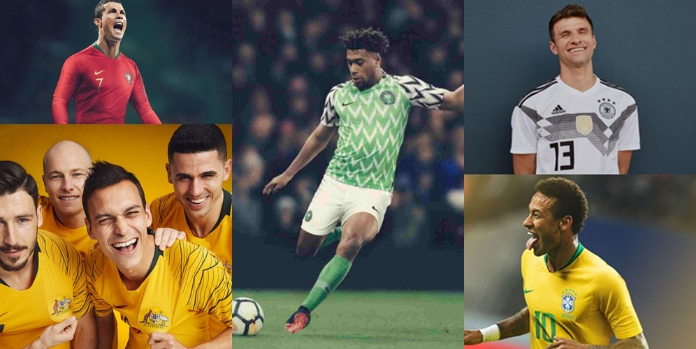 , #World Cup 2018: Nigerian World Cup Jersey Voted Best Among 32 Nations In The Tournament, Effiezy - Top Nigerian News & Entertainment Website