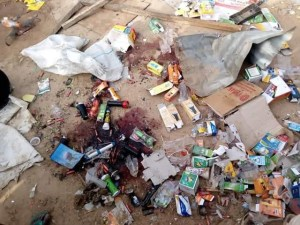 Check Out Scenes From An Explosion That Rocked A Village In Borno On Eid-el-Fitri Day (Graphic Photos)