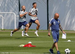 #World Cup: Argentina players to make their own team selection against Nigeria as Coach Sampaoli is stripped off power