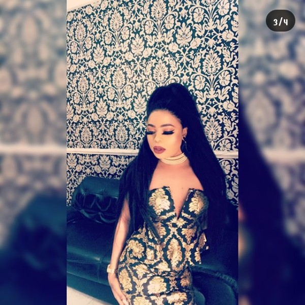 , Seems Bobrisky's breast is coming out; check out his cleavage in new photos (Photos), Effiezy - Top Nigerian News & Entertainment Website