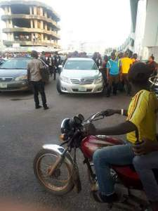 #EndSARS: Youths Resist SARS Harassment In Abeokuta (Photos)
