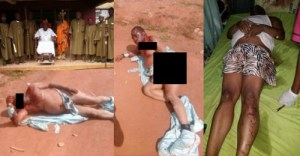 Traditional Ruler Beaten To Death In Enugu By His Subjects (Photos)