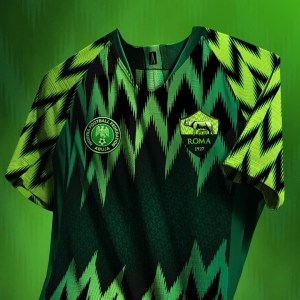 AS Roma To Adopt Super Eagles Design For Their Next Jersey (Photos)