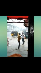 Watch As Two Men Fight Under The Rain Because Of A Lady (Photos & Video)