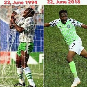 Nigeria VS Argentina: Ahmed Musa may land in trouble (See Why)