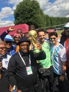 Nigeria Vs Argentina; Ifeanyi Ubah Arrives Russia In Style (Photos)