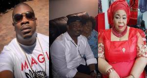 """Show the world that you're not impotent,"" – Don Jazzy's mother teases him (Photo)"