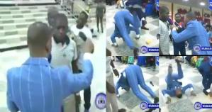 Pastor Obinim Somersaults After Member Wins ₦230Billion With Lotto Number He Gave Him (Video)