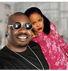 Don Jazzy Shares Sexy Bedroom Photo Of Himself With Rihanna (Photo)