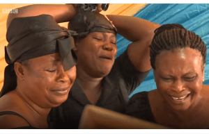 See Ghanaian Professional Mourners Paid To Cry At Burial Of Strangers (Video)