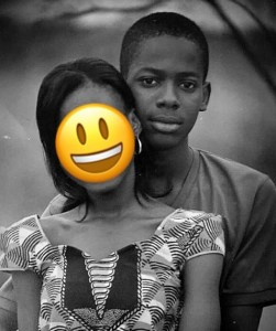 Singer, Adekunle Gold Shares Photo Of Him With A Lady When He Was A Small Boy (Throwback Photo)