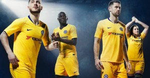 Chec Out Chelsea's Yellow Away Kit For 2018/2019 Premier League Season