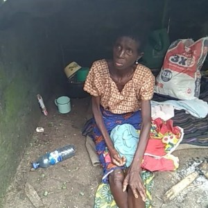 Woman Abandoned by Her Children In Delta As Pastor Tells Them She's A Witch (Video)